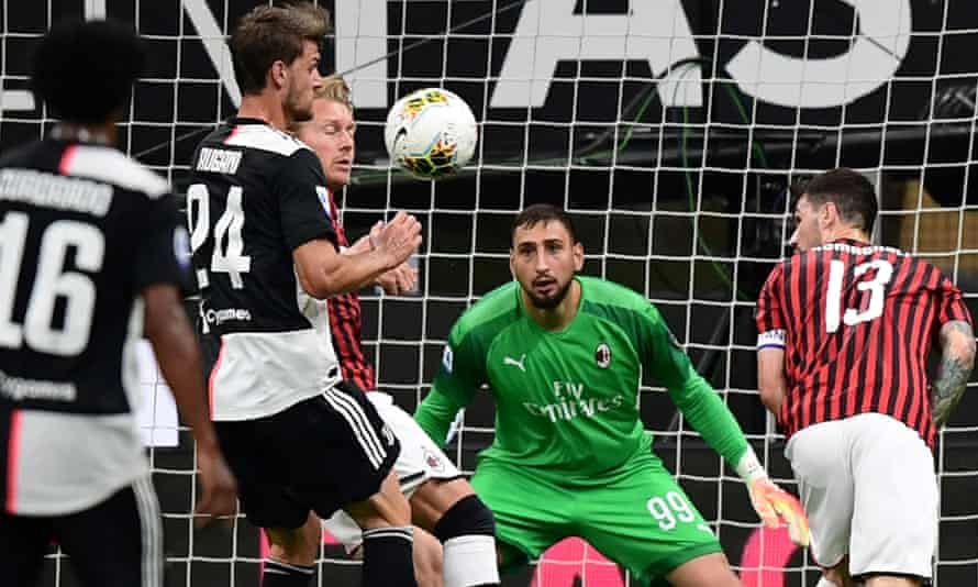Donnarumma appears to have played his last game for Milan after rising up from the youth ranks at San Siro.