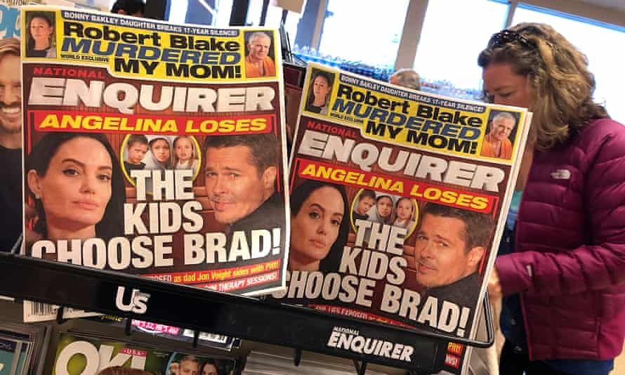 The National Enquirer is published by American Media Inc (AMI).