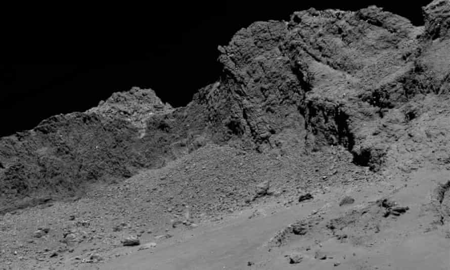 Another image of Comet 67P/Churyumov-Gerasimenko during the spacecraft's final descent on 30 September