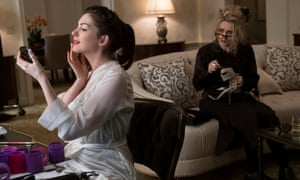 Show me the mummy … Anne Hathaway and Helena Bonham Carter in Ocean's 8