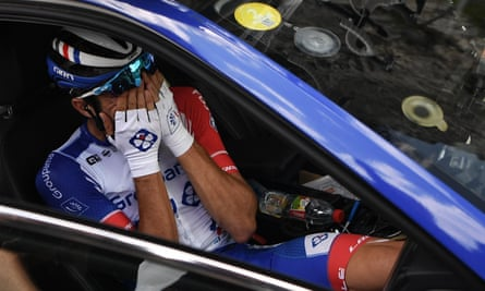 France's Thibaut Pinot was forced to abandon last year's Tour de France on Stage 19, on the road to Tignes, while in contention for the overall win.