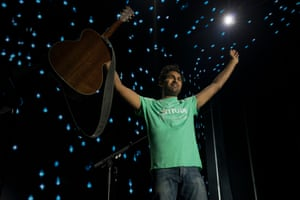 Pick a different tune…  Himesh Patel in Yesterday.