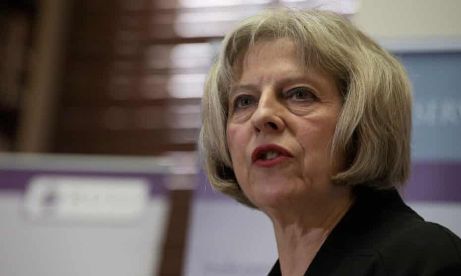 Theresa May wants PCCs to bring together police and school reform.