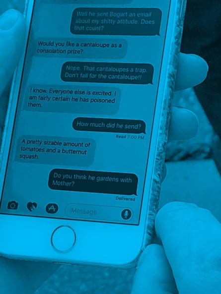 6 #nyc byJeff Mermelstein. New Yorkers' overseen text messages.