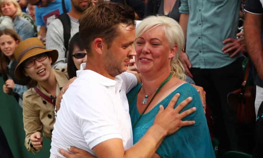 Marcus Willis S Mum He S Like Jamie Vardy He Likes A Party Wimbledon The Guardian