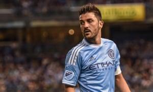 New York City FC's captain David Villa.