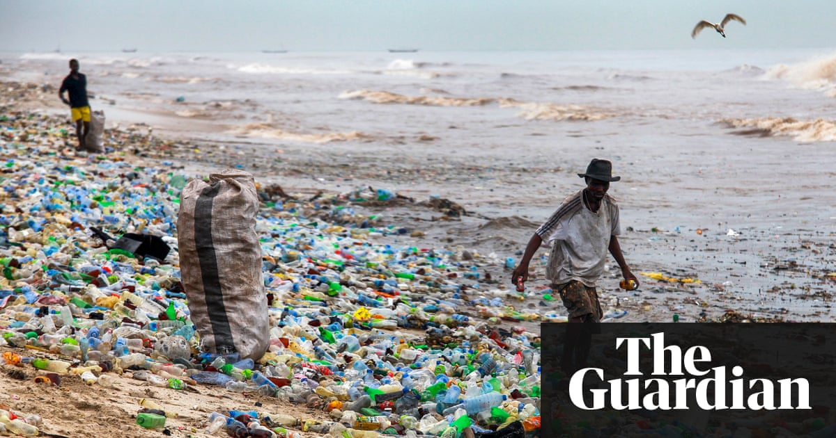 Pollution in sea , [Image Source : theGuardian]