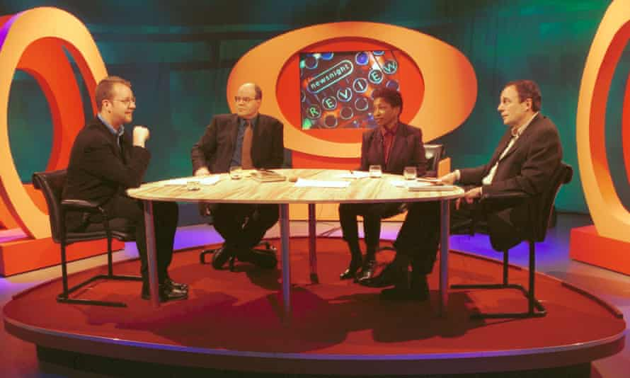 Philip Hensher, Mark Lawson, Bonnie Greer and Tom Paulin on Newsnight Review in 2001