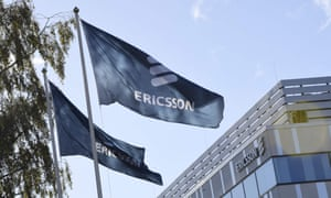 ericsson issues profit warning business the guardian