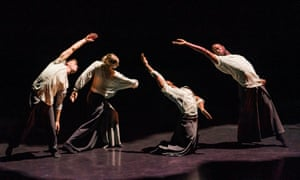 Zen-like energy … Silent Lines by Russell Maliphant Dance Company.