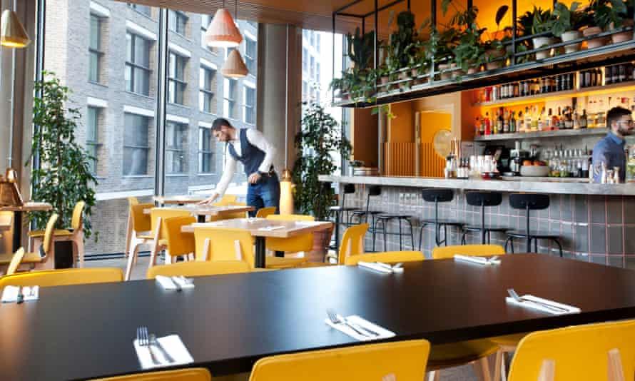 Treves and Hyde, Leman St, Aldgate East, London, for Jay Rayner's restaurant review, OM, 07/12/2017. Sophia Evans for The Observer