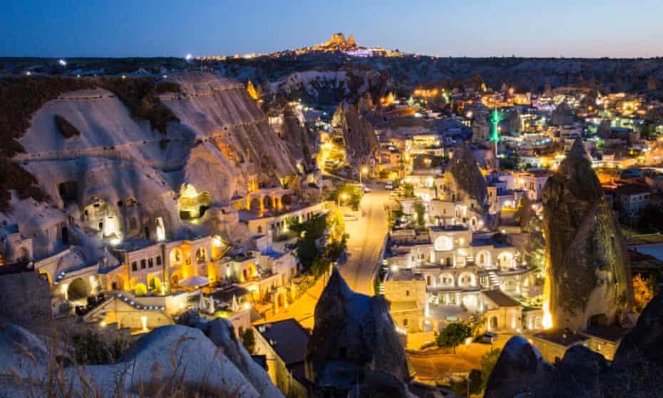 The exotic landscape of Cappadoccia