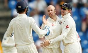 jack leach confident england can win second test despite sri lanka s
