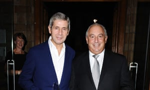 Stuart Rose saw off a takeover bid from Sir Phillip Green (right) while at M&S.