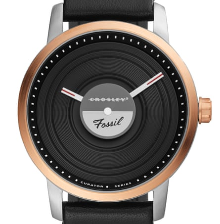 Watch collaboration Fossil x Crosley