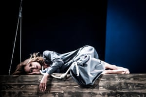 'The comedy and tragedy are always there' … Viktoriya Isakova in The Cherry Orchard.