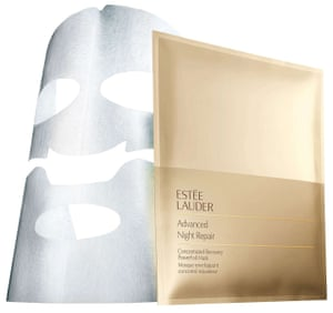 Estée Lauder's Advanced Night Repair Powerfoil mask.