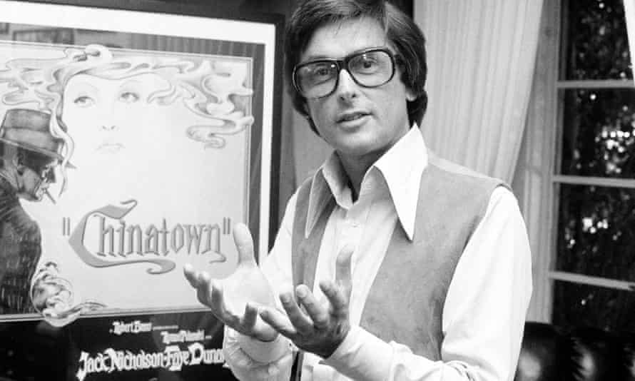 Robert Evans in his office in Beverly Hills, California in 1974. A life of excess eventually ruined his career.