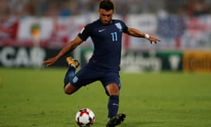 Alex Oxlade-Chamberlain has clearly yet to convince Gareth Southgate that he is of more use in the middle.