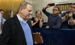 Harvey Weinstein leaving court in New York on 25 May. He also faces a second class action lawsuit filed by six women in California.