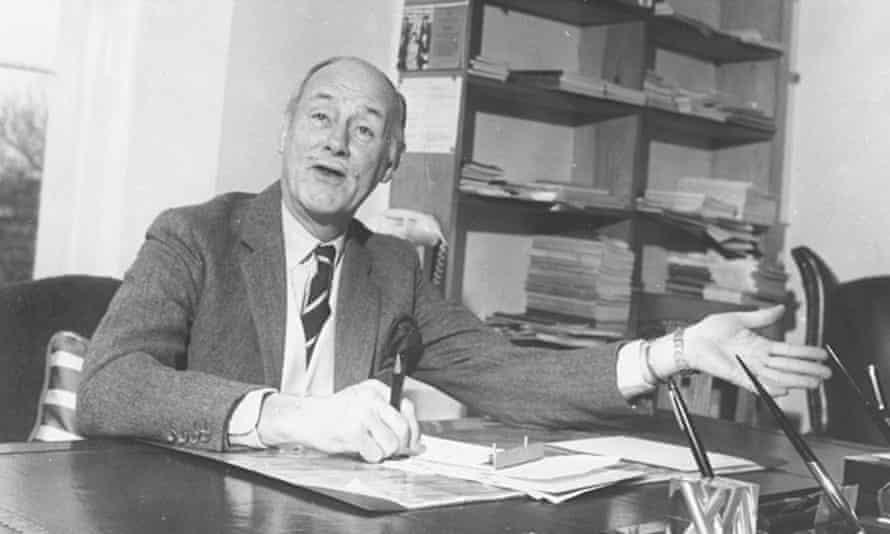 Sir Walter Walker in 1955