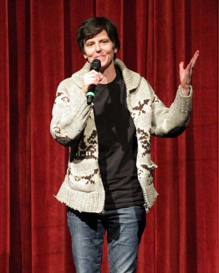 Notaro performing in 2014.