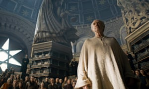 Jonathan Pryce as the High Sparrow.