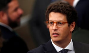 Ricardo Salles, Brazil's environment minister, was found to have altered an environmental plan to benefit businesses. A judge ordered him to pay a fine and suspended his political rights for three years.