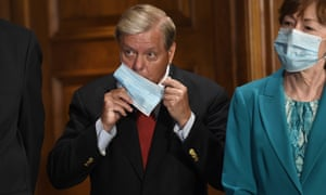 Republican senators Lindsey Graham and Susan Collins both face serious challenges for their seats.