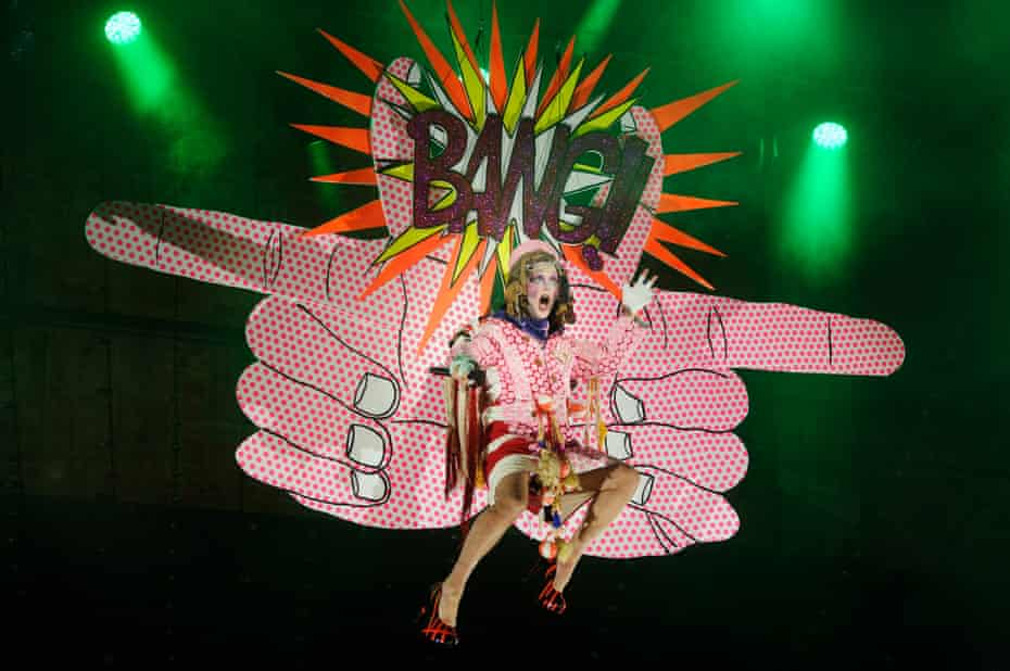Taylor Mac's A 24-Decade History of Popular Music, performed at Melbourne festival in 2017.