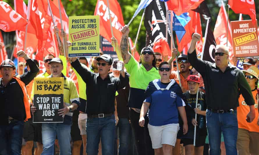 Penalty rate cuts protest