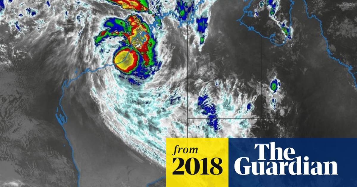 Tropical Cyclone Joyce Fails To Intensify Off Western Australian Coast Weather The Guardian