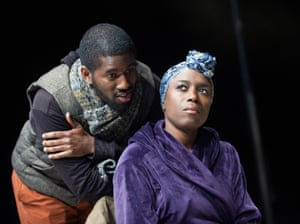 Gershwyn Eustache Jnr and Sharlene Whyte in nut at the National Theatre in 2013.