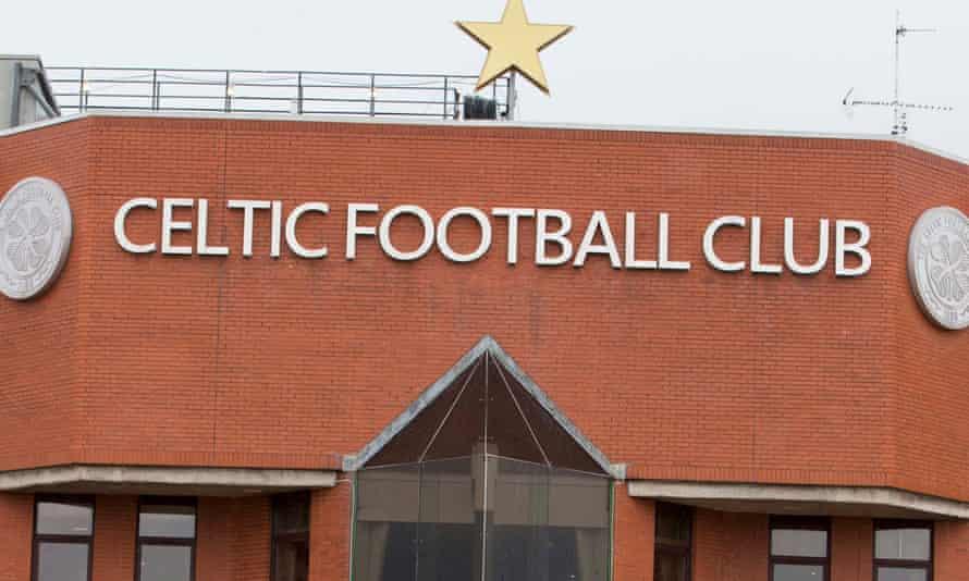 The Celtic stadium in Glasgow