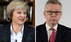 Theresa May and Michael Gove are facing one another in the Conservative leadership contest.