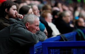 Every football fan knows this feeling shown by an Everton fans after loosing 1-0 at home to Burnley.