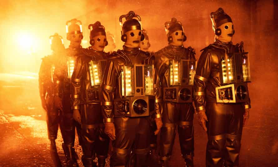 Spooky, menacing and damn effective … the Mondasian Cybermen are back on Doctor Who.