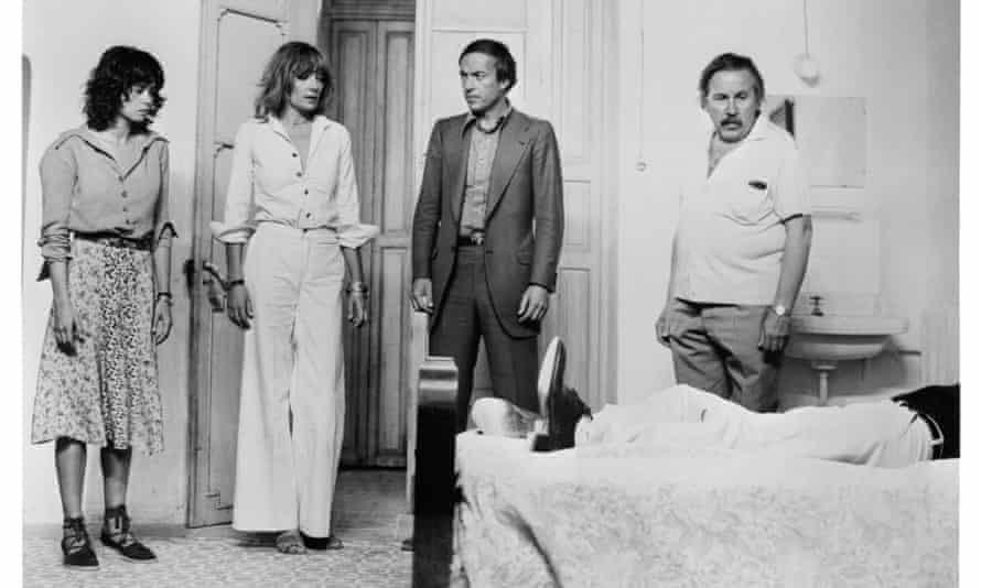 The Passenger with (from left) Maria Schneider Runacre, Charles Mulvehill and José María Caffarel.