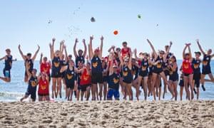 British Beach Sports Champs, Branksome Chine Beach, near Bournemouth