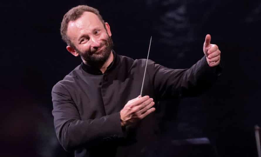 Kirill Petrenko conducts the Berlin Philharmonic as it performs Beethoven's Ninth Symphony.