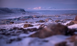 A view of Thule Air Base, Greenland,