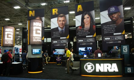 The NRA convention.