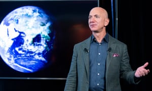 Founder and CEO of Amazon Jeff Bezos