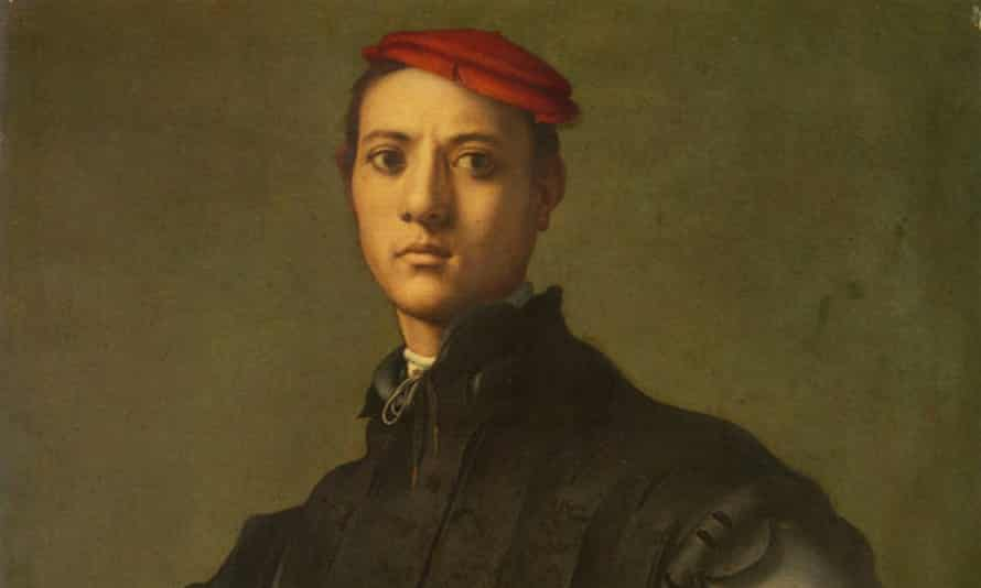 Portrait of a Young Man in a Red Cap by Pontormo