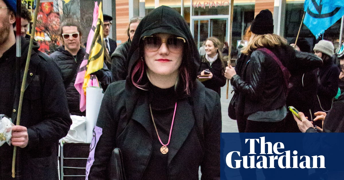 Extinction Rebellion co-founder 'shut out' at London fashion show