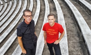 Vibrant … John Convertino and Joey Burns of Calexico.
