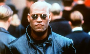 Laurence Fishburne as Morpheus in the 1999 film The Matrix