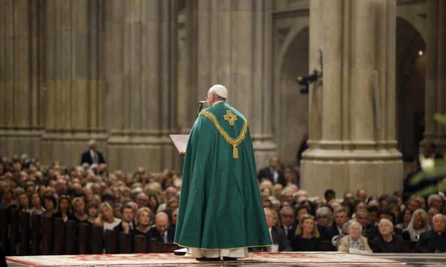 Pope Francis at St Patrick's