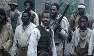 Nate Parker leading the rebellion as Nat Turner in The Birth of a Nation.