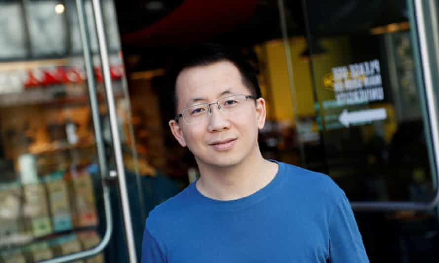 Zhang Yiming, founder and chief executive of Bytedance, has quit, saying he is 'not very social'.
